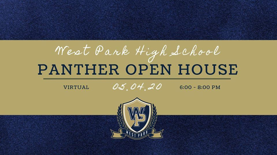 Panther Open House 5.4.20